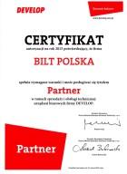 certyfikat develop